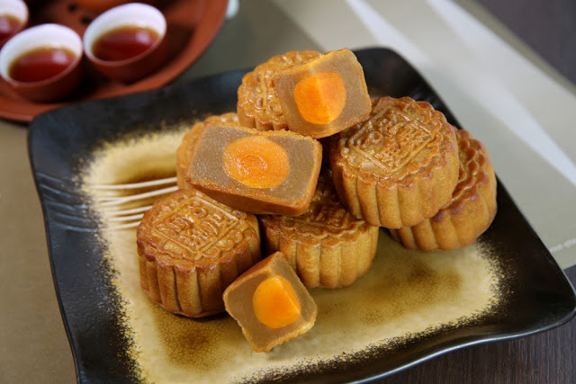 Salted Egg Yolk Mooncake Making Class Singapore Hands On
